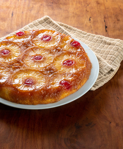 Homemade Pineapple Upside-Down Cake