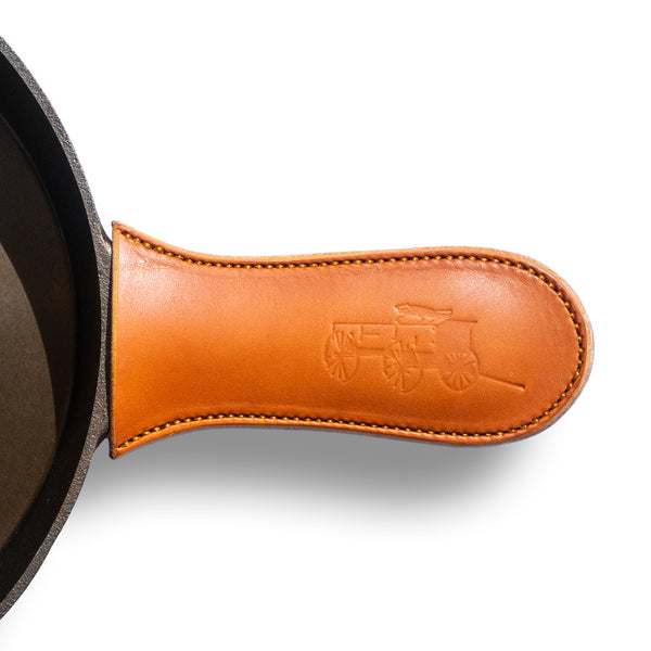 Leather Skillet Handle Cover