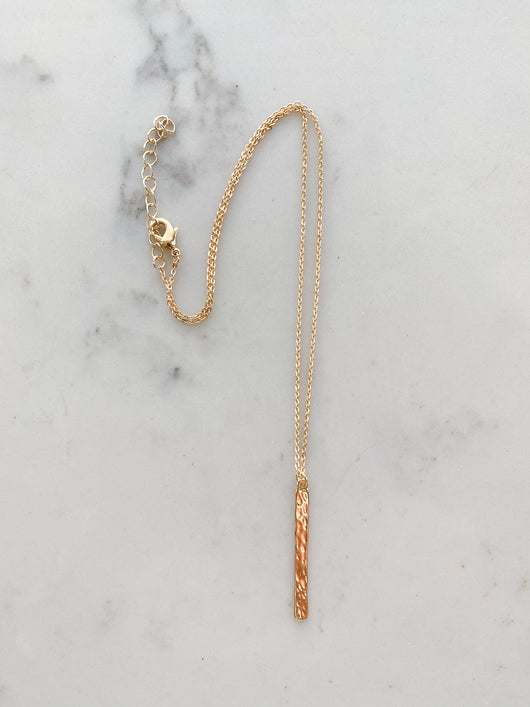 Simply Bar Necklace