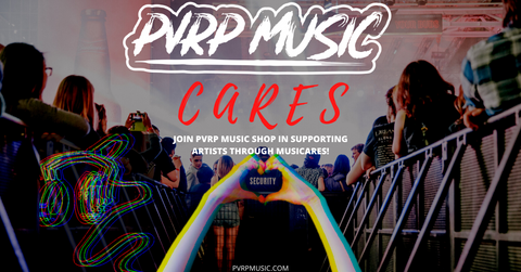 PVRP x MusiCares Charity Collection-PVRP Music Shop