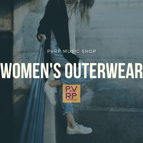 Women's Outerwear-PVRP Music Shop
