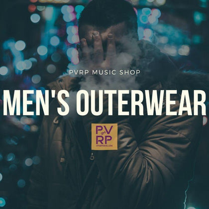 Men's Outerwear-PVRP Music Shop