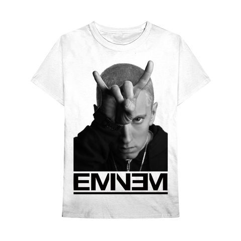 Eminem | Finger Horns T-Shirt-PVRP Shop