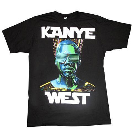 Kanye West Robot Wars - Mens Black T-Shirt