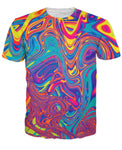 Oil Spill Colorful T-Shirt - PVRP Shop