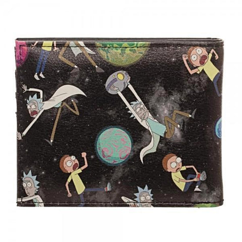 Rick and Morty Bi-Fold Wallet - PVRP Shop