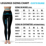 Womens Black Magic Cat Leggings - PVRP Shop