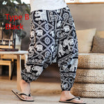 Baggy Cotton Linen Harem Pants - PVRP Shop