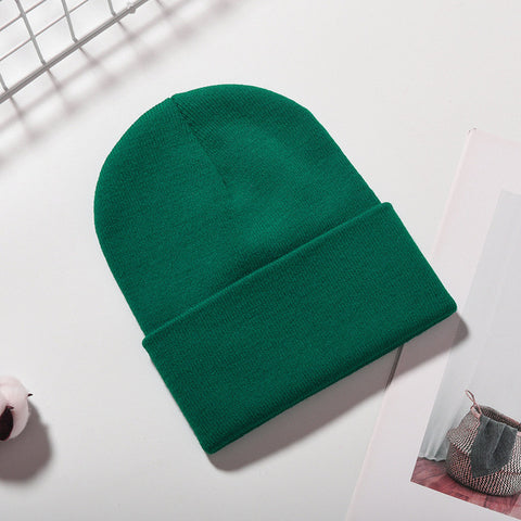 Solid Color Warm Winter Beanies - PVRP Shop