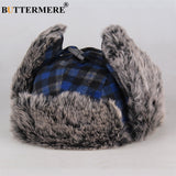 Winter Bomber Hat Fur Red-PVRP Shop
