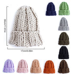Women Winter Knitted Beanies-PVRP Shop