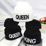 King Queen Knitted Beanie - PVRP Shop