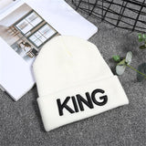 King Queen Knitted Beanie-PVRP Shop
