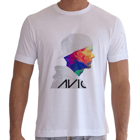 Avicii Photo Men's Tshirt - White-PVRP Shop
