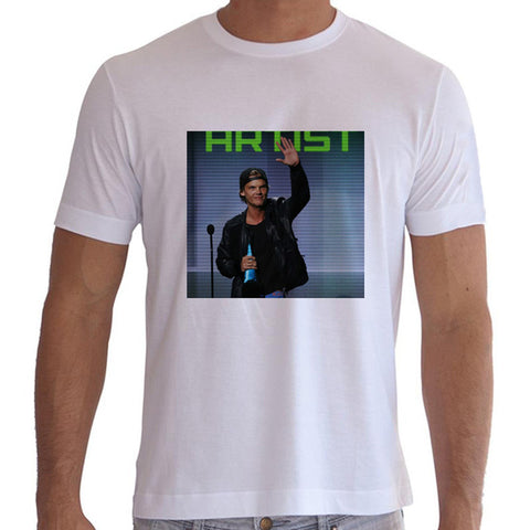 Avicii Photo Men's T-Shirt - White - PVRP Shop