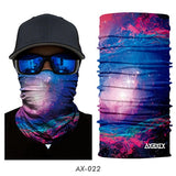 Galaxy Universe Print Scarf Men Headwear Face Mask-PVRP Shop