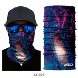 Galaxy Universe Print Scarf Men Headwear Face Mask - PVRP Shop