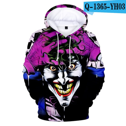 joker 3D Print Sweatshirt-PVRP Shop