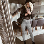 Women Plaid Pants 2019 Joggers - PVRP Shop