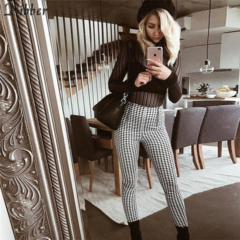 Women Plaid Pants 2020 Joggers - PVRP Shop