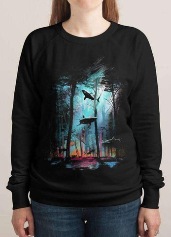 SHARK FOREST WOMEN Printed SWEAT SHIRT-PVRP Shop