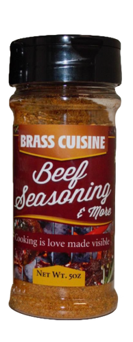 Brass Cuisine Beef Seasoning