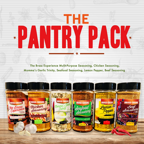 "Brass Cuisine ""Pantry Pack"""