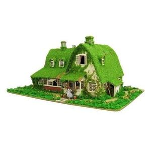 1/150 Studio Ghibli series Kiki's Delivery Service Kiki and Gigi's house (Okino House) MK07-22 Paper Craft-My Hero Booth