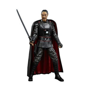 Star Wars The Black Series Moff Gideon Toy 6-Inch Scale The Mandalorian Collectible Action Figure, Toys For Kids Ages 4 and Up | My Hero Booth