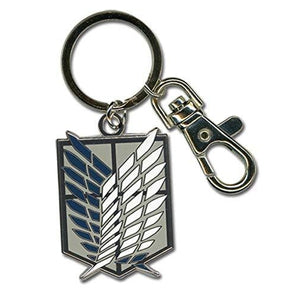 Attack On Titan Scouting Legion Emblem Keychain : My Hero Booth