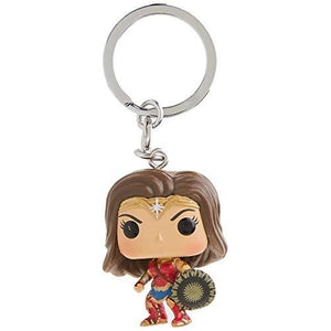 Funko Pop Keychain DC Wonder Woman Movie Wonder Woman Action Figure : My Hero Booth