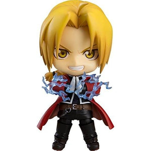 Good Smile Full Metal Alchemist: Edward Elric Nendoroid Action Figure : My Hero Booth