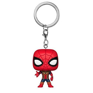 Funko POP! Keychain Marvel: Avengers Infinity War - Iron Spider, Multicolor : My Hero Booth