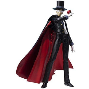 Bandai Tamashii Nations S.H. Figuarts Tuxedo Mask Sailor Moon Figure | My Hero Booth