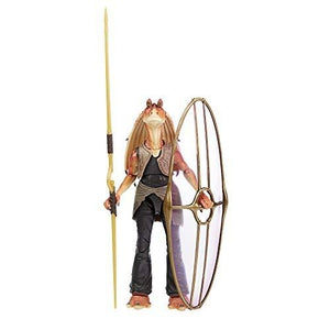 STAR WARS The Black Series Jar Jar Binks 6-Inch-Scale The Phantom Menace Collectible Deluxe Action Figure, Kids Ages 4 and Up | My Hero Booth
