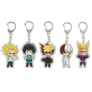 Boku No Hero Academia Keychain Key Ring My Hero Academia Acrylic Action Figure (5 Pieces) | My Hero Booth