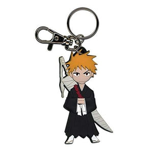 Bleach Ichigo PVC SD Keychain : My Hero Booth