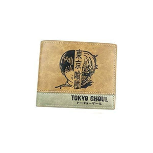 Tokyo Ghoul PU Leather Wallet Card Holder Purse Card Organizer for Teenager and student. (Tokyo Ghoul) | My Hero Booth