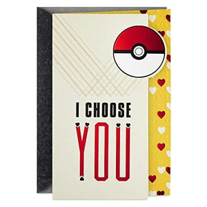 Pokemon Hallmark Our Anniversary/valentine Card | My Hero Booth