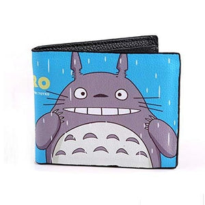 Totoro Japanese Anime Wallets,Litchi PU Leather Wallets,Boy Wallets For Teens. (Form 1) | My Hero Booth