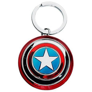 Marvel Captain America Shield Pewter Key Ring : My Hero Booth