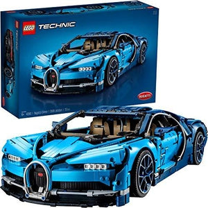 LEGO Technic Bugatti Chiron 42083 Race Car Building Kit and Engineering Toy, Adult Collectible Sports Car with Scale Model Engine (3599 Pieces) | My Hero Booth