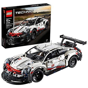 LEGO Technic Porsche 911 RSR 42096 Race Car Building Set STEM Toy for Boys and Girls Ages 10+ features Porsche Model Car with Toy Engine (1,580 Pieces) | My Hero Booth