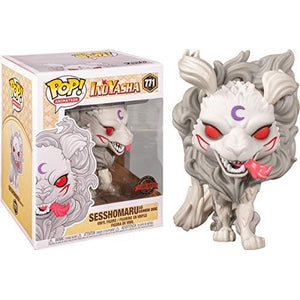 Funko Pop! Animation: Inuyasha Sesshomaru as Demon Dog 6-inch Exclusive Vinyl Figure | My Hero Booth