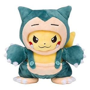Pokemon Center Original stuffed Snorlax maniac Pikachu | My Hero Booth