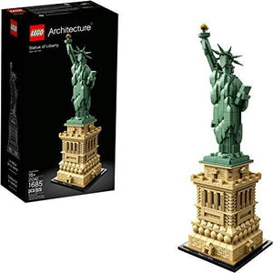 LEGO Architecture Statue of Liberty 21042 Building Kit (1685 Pieces) | My Hero Booth