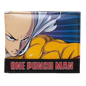 One Punch Man Bi-fold Wallet : My Hero Booth