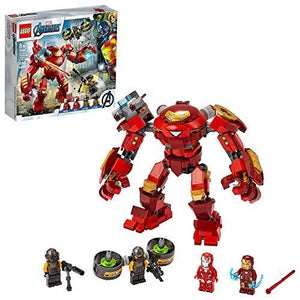 LEGO Marvel Avengers Iron Man Hulkbuster Versus A.I.M. Agent 76164, Cool, Interactive, Brick-Build Avengers Playset with Minifigures, New 2020 (456 Pieces) | My Hero Booth