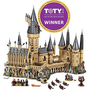LEGO Harry Potter Hogwarts Castle 71043 Castle Model Building Kit With Harry Potter Figures Gryffindor, Hufflepuff, and more (6,020 Pieces) | My Hero Booth