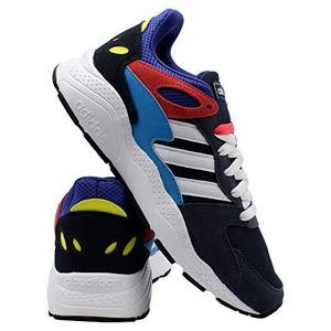 adidas Chaos Men's Sneaker -White-Shock Red | My Hero Booth